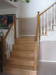Red oak staircase remodel - after