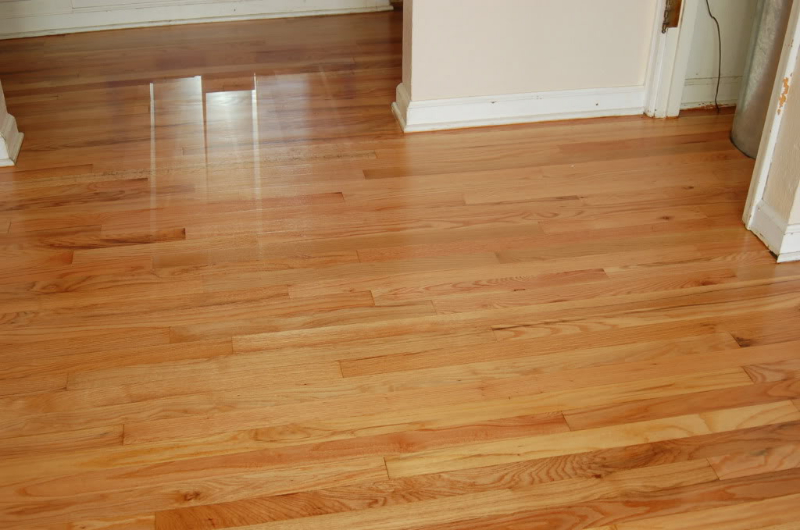 Salem Oregon hardwood floor refinish-after