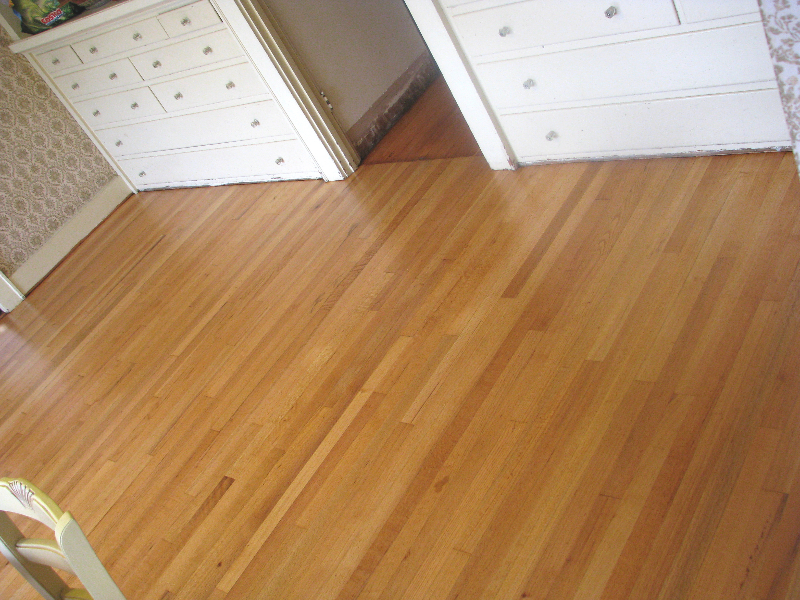 Salem Oregon red oak refinish - after
