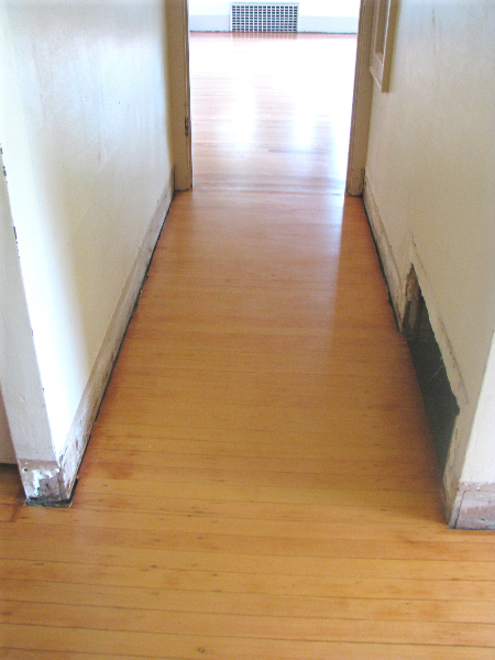 Salem Oregon Fir hallway refinish - after