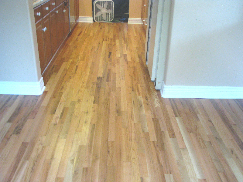Refinish hardwood floors refinish hardwood floors before for Wood floor refinishing