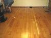Old fire damaged fir floor - after